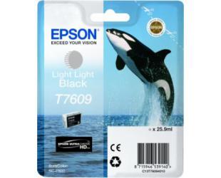 Rašalo kasetė Epson T7609, Light Light Black