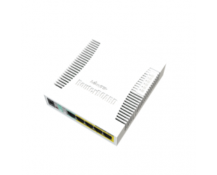 Komutatorius MikroTik Cloud Router Switch RB260GSP 1000 Mbit/s, Ethernet LAN (RJ-45) ports 5, Desktop