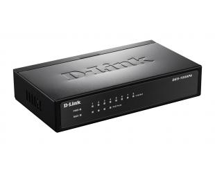 Komutatorius (Switch) D-Link DES-1008P Unmanaged