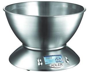 Virtuvinės svarstyklės Adler AD 3134 iki 5 kg