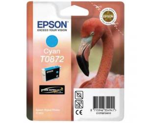Rašalo kasetė Epson Singlepack Cyan T0872 Ultra Gloss High-Gloss 2 Cyan