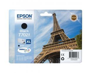 Rašalo kasetė Epson T7021, Black