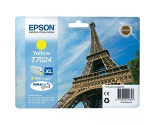 Rašalo kasetė Epson T7024, Yellow