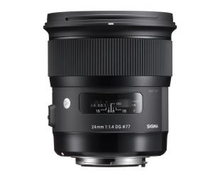 Objektyvas Sigma 24mm F1.4 DG HSM Nikon [ART]