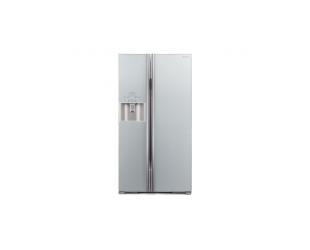 Šaldytuvas Hitachi R-S700GPRU2 (GS) A++ Glass Silver