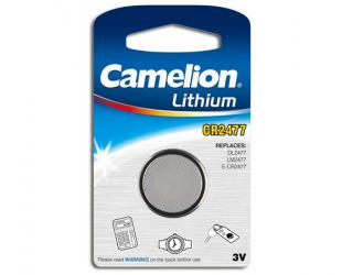 Barterijos Camelion CR2477, Lithium, 1 vnt