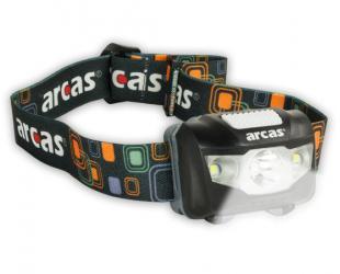 Šviestuvas Arcas Headlight ARC5 1 LED+2 Flood light LEDs, 5 W, 160 lm, 4+3 light functions