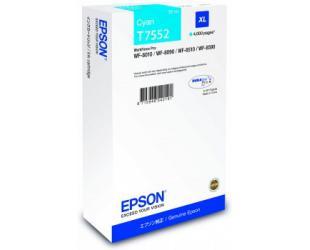 Rašalo kasetė Epson T7552 XL, Cyan
