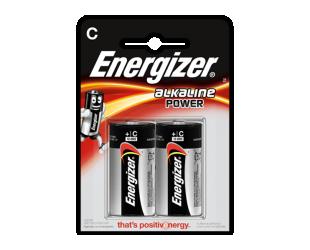Baterijos Energizer C/LR14, Alkaline Power, 2 vnt