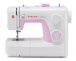 Siuvimo mašina Singer SIMPLE 3223, balta/rausva