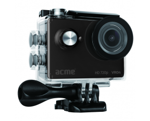 Veiksmo kamera Acme Action camera VR04 140 °, 720 pixels, 30 fps, Built-in speaker(s), Built-in display, Built-in microphone,