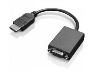 Adapteris Lenovo HDMI to VGA 0.2 m, Black, Adapter