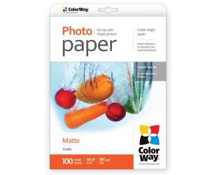Foto popierius ColorWay Matte, 100 vnt., 10x15, 190 g/m²