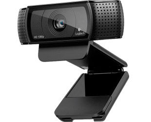 Web kamera Logitech C920 Black, up to 1920 x 1080 pixels pixels, 720p, 1080p, USB 2.0, USB port