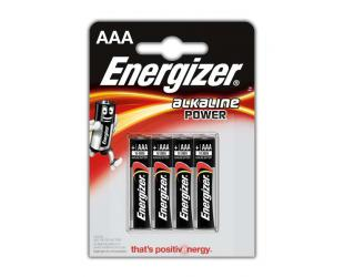Baterijos Energizer AAA/LR03, Alkaline Power, 4 vnt