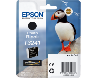 Rašalo kasetė Epson T3241, Photo Black