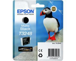 Rašalo kasetė Epson T3248, Matte Black