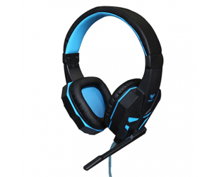 Ausinės Aula Prime Gaming Headset 2 x 3.5 mm, USB (for illumination), Built-in microphone