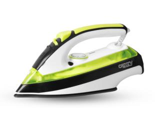Lygintuvas Iron Camry CR 5025 Green/White/Black, 2600 W, With cord, Anti-drip function, Anti-scale system, Vertical steam function