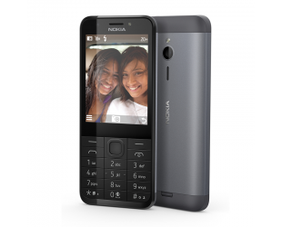 Mobilusis telefonas Nokia 230 Dark Silver
