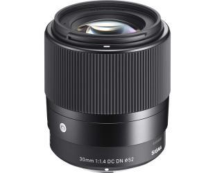 Objektyvas Sigma 30mm F1.4 DC DN Sony E-mount [CONTEMPORARY]