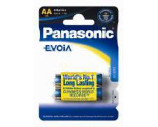 Barterijos Panasonic Evolta AA AA/LR6, Alkaline, 2 vnt