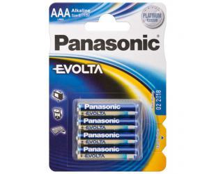 Barterijos Panasonic LR03 4-BL Panasonic EVOLTA AAA/LR03, Alkaline, 4 vnt