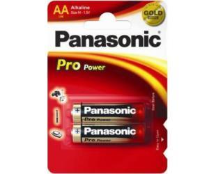 Barterijos Panasonic Pro Power AA/LR6, Alkaline, 2 vnt