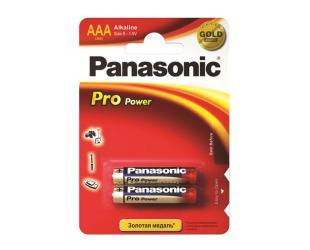 Barterijos Panasonic Pro Power AAA/LR03, Alkaline, 2 vnt
