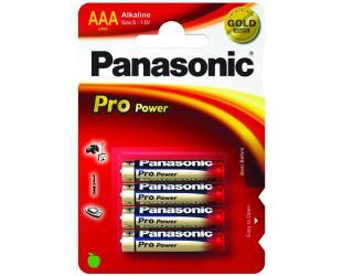 Barterijos Panasonic 1x4 LR03PPG Alkaline, 4 vnt
