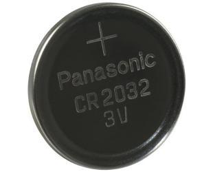 Barterijos Panasonic CR2032 CR2032, Lithium, 1 vnt