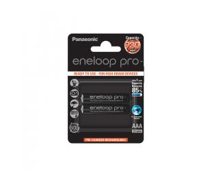 Įkraunamos barterijos Panasonic eneloop AAA/HR03, 930 mAh, Ni-MH, 2 vnt