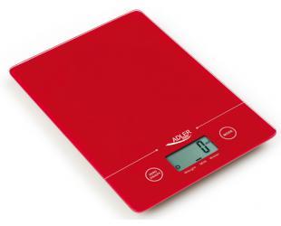 Virtuvinės svarstyklės Adler Kitchen scales AD 3138 Maximum weight (capacity) 5 kg, Graduation 1 g, Red