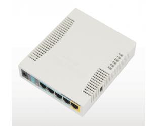 Belaidės prieigos taškas MikroTik RB951UI-2HnD Access Point 802.11n, 2.4, 10/100 Mbit/s, Ethernet LAN (RJ-45) ports 5, MU-MiMO Yes, PoE in/out