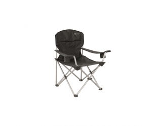 Sudedama kėdė Outwell Arm Chair Catamarca XL 150 kg, Black, 100% polyester