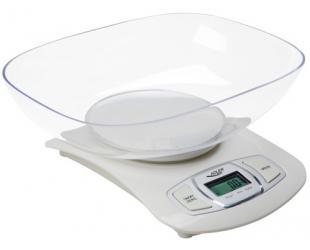 Virtuvinės svarstyklės Adler AD 3137 Kitchen scales, Capacity 5 kg , Graduation 1g, Big LCD Display, Auto-zero/Auto-off, Large bowl, White Adler Adler AD 3137 Maximum weight (capacity) 5 kg, Graduation 1 g, Display type LCD, White