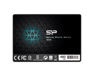 """SSD diskas Silicon Power Slim S55 480 GB, SSD form factor 2.5"""", SSD interface SATA, Write speed 440 MB/s, Read speed 550 MB/s"""