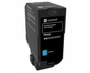 Toneris Lexmark Lexmark High Capacity Cyan me 84C2HC0 Lexmark
