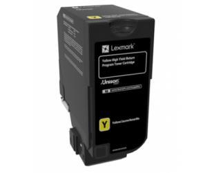 Toneris Lexmark Genuine High Capacity Yellow me 84C2HY0 Lexmark