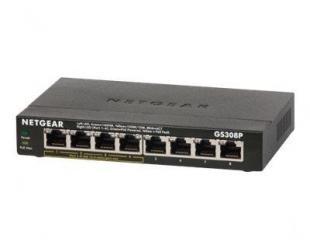 Komutatorius (Switch) Netgear GS308P Unmanaged