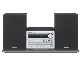 Muzikinis centras Panasonic SC-PM250EC-S, CD, bluetooth