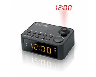Radijo imtuvas Muse Clock radio M-178P Black, 0.9 inch amber LED, with dimmer