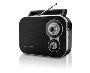 Radijo imtuvas Muse M-051R Black, 2-band portable radio,