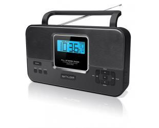 Radijo imtuvas Muse M-087R Black, 2-band PLL stereo