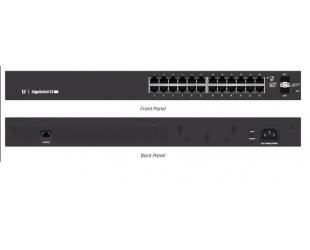 Komutatorius (Switch) Ubiquiti EsgeSwitch ES-24-Lite Managed, Rack mountable, 1 Gbps (RJ-45) ports quantity 24, SFP ports quantity 2