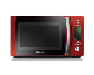 Mikrobangų krosnelė Candy Microwave oven CMXG20DR 20 L, Grill, Electronic, 800 W, Red, Defrost function, Free standing