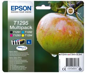 Rašalo kasetė Epson Multipack 4-colours T1295 DURABrite Ultra, Black, Cyan, Magenta, Yellow