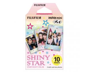 Momentinis fotopopierius Fujifilm Instax Mini Shiny Star, 10 vnt, 86x54 mm