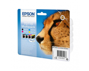 Rašalo kasetė Epson C13T07154012 multi pack, Black, Cyan, Magenta, Yellow