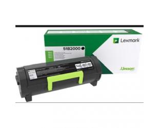 Toneris Lexmark MS/MX 3/4/5/617 51B2000 Monochrome Laser, Black